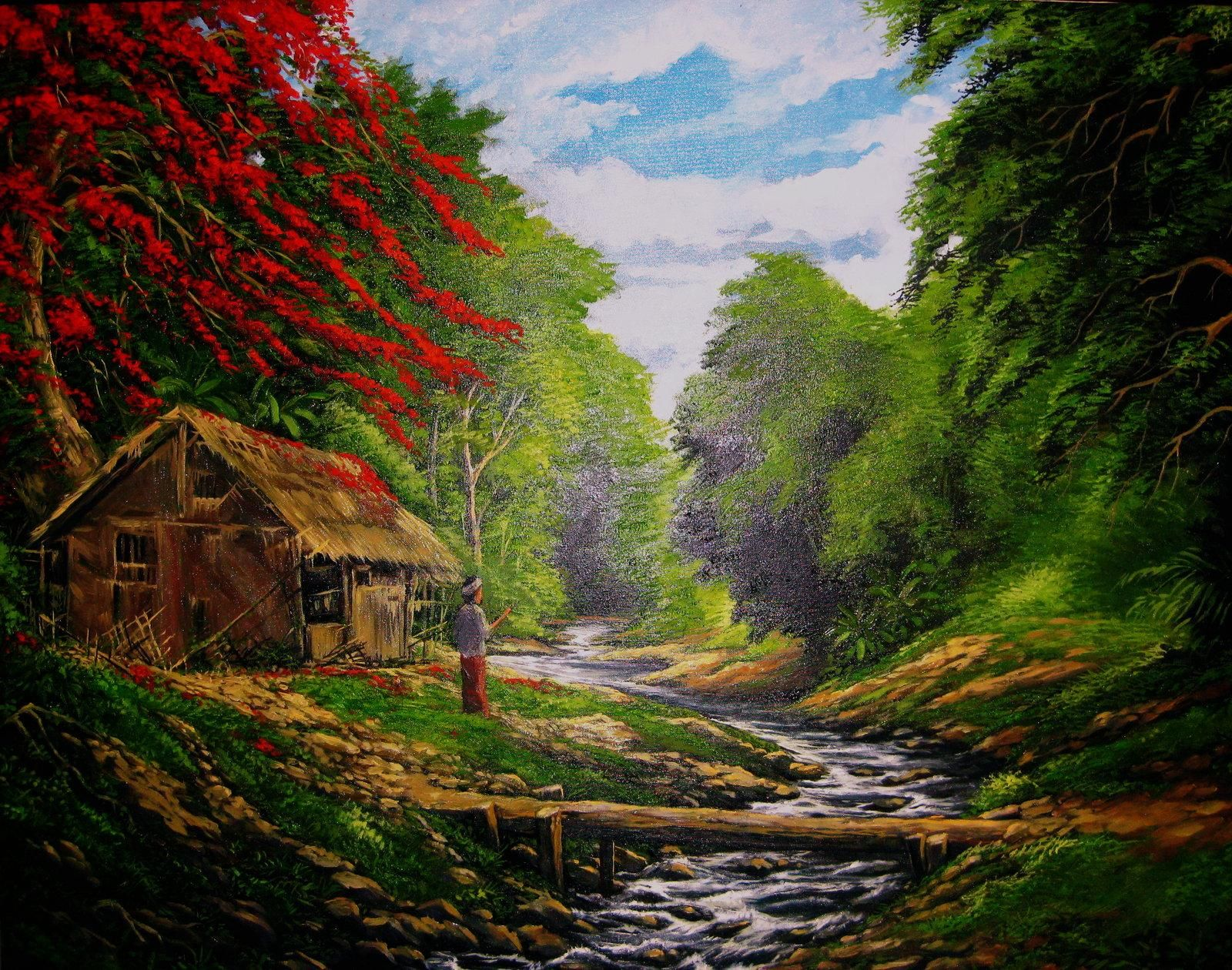 Pemandangan Alam Terindah Di Dunia Wallpaper 64 Pictures In 2020 Pictures Wallpaper Painting