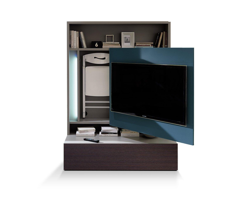 Ozzio Tv-Wand Smartliving | TV Möbel, Tv und hifi möbel und Eckschrank