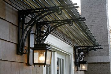 I Would Rather Have Wrought Iron Pergola Over My Garage