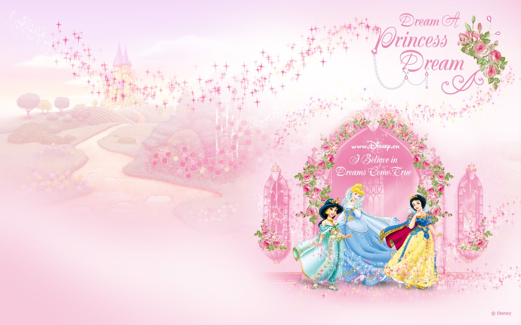 Princess Aurora Background Design Wallpapers Ideas Disney