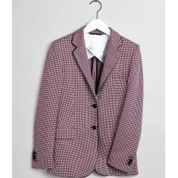 Photo of Gant Preppy Check Jersey Blazer (Rot) Gant