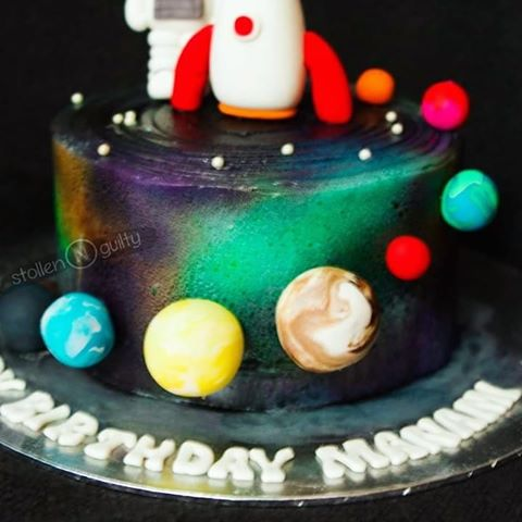 Strange Buttercream Outer Space Cake Google Search With Images Cake Funny Birthday Cards Online Sheoxdamsfinfo