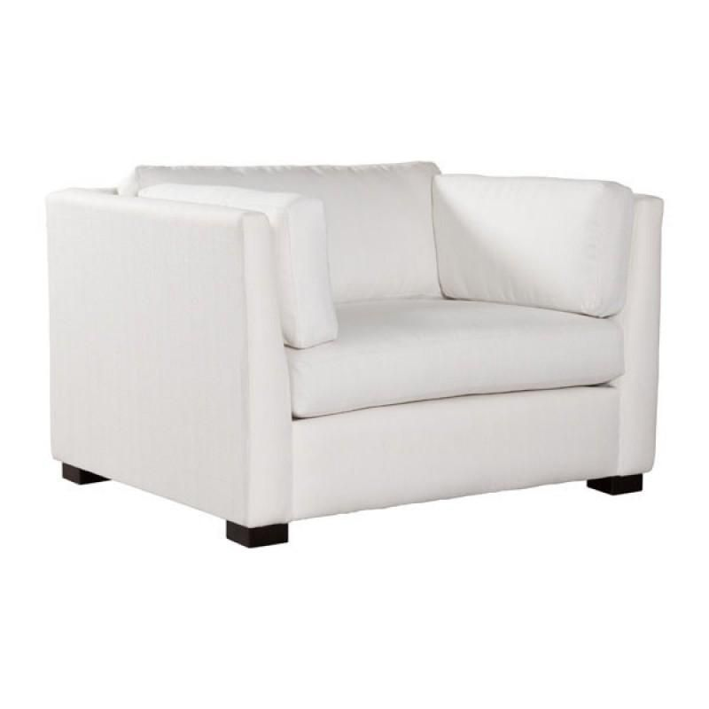 ZUO Modern Monroe Chair Snow 100691 Living Sofas Chair