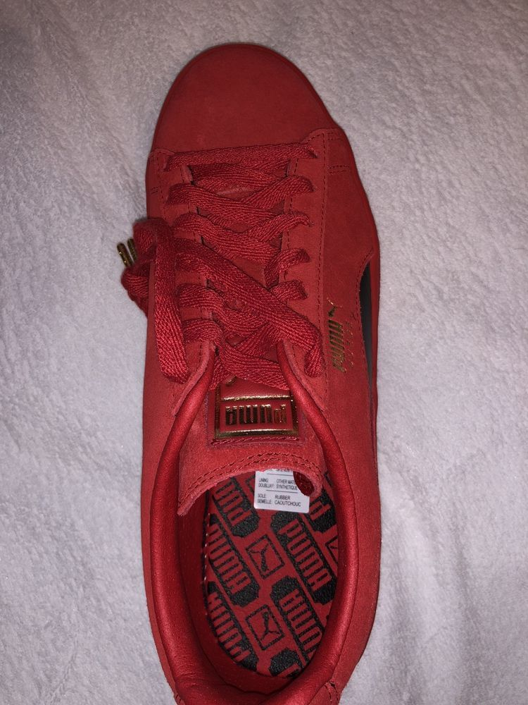 separation shoes 72ad9 76ae4 Puma x Ferrari Classic Red Suede Size 8.5 #fashion #clothing ...