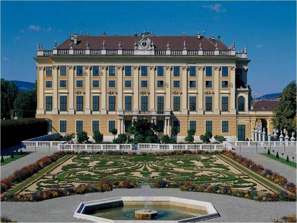 Schönbrunn Palace Vienna, Austria