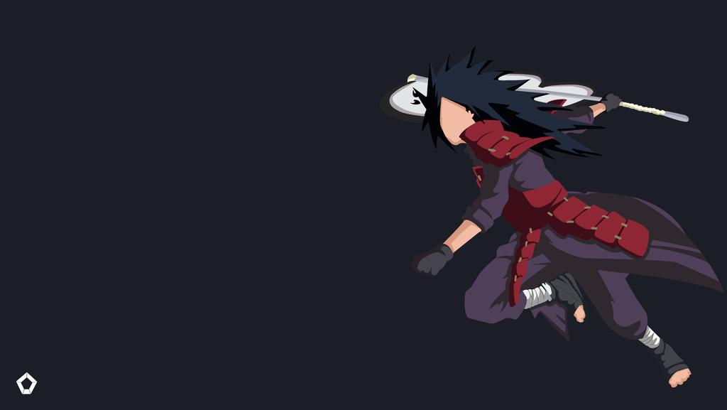 Uchiha Madara Naruto Minimalist Wallpaper 4k By Darkfate1720 On