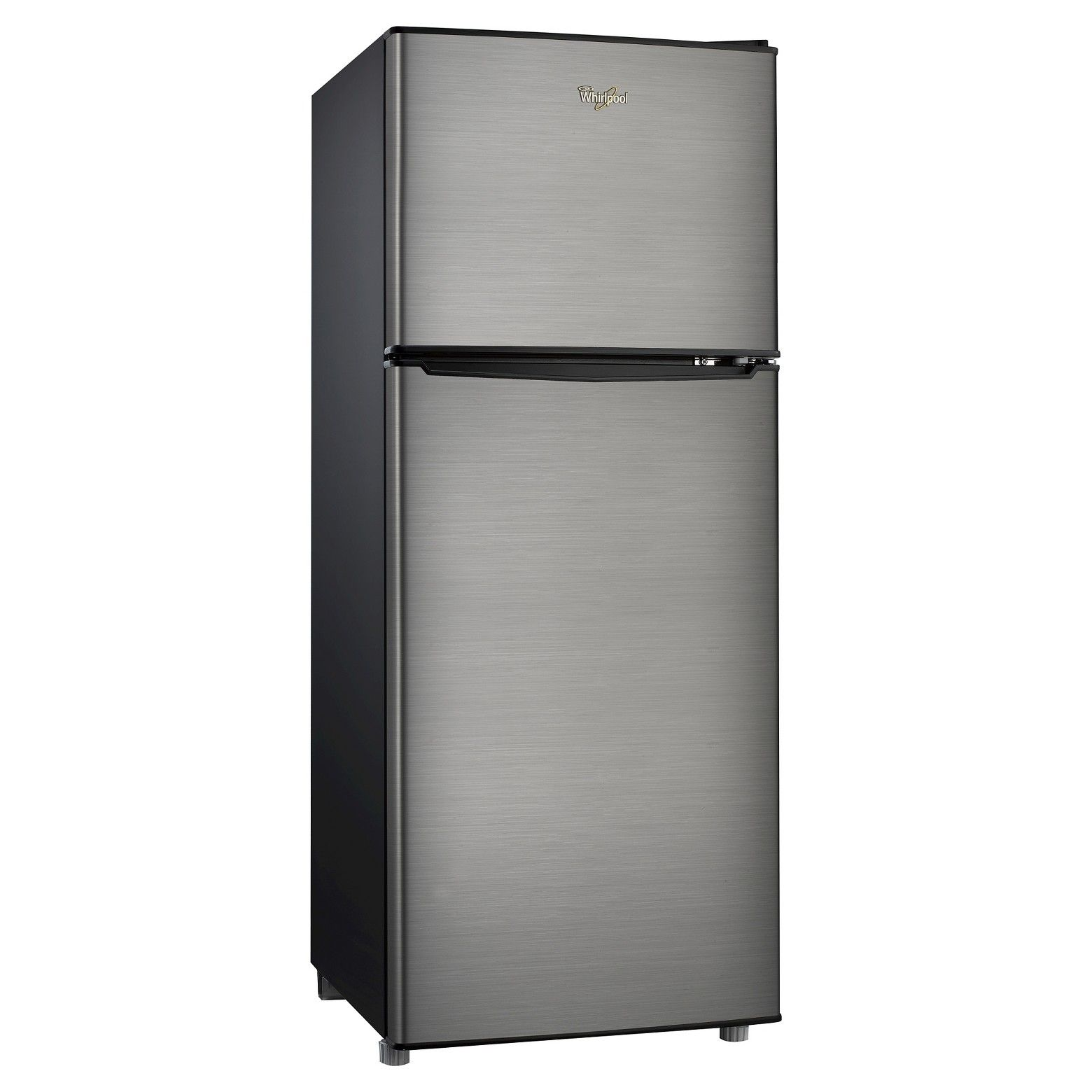 Whirlpool 4 6 Cu Ft Compact Refrigerator Stainless Steel Bcd 133v62 Compact Refrigerator Stainless Steel Refrigerator Apartment Size Refrigerator