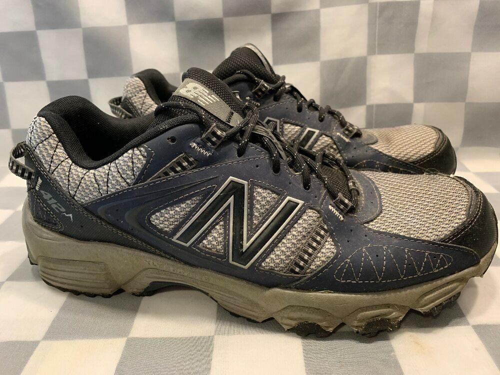 a165f46b8335a NEW BALANCE 412 Trail Running Men's Shoe Size 11 D Blue Silver MTE412N1 # NewBalance #