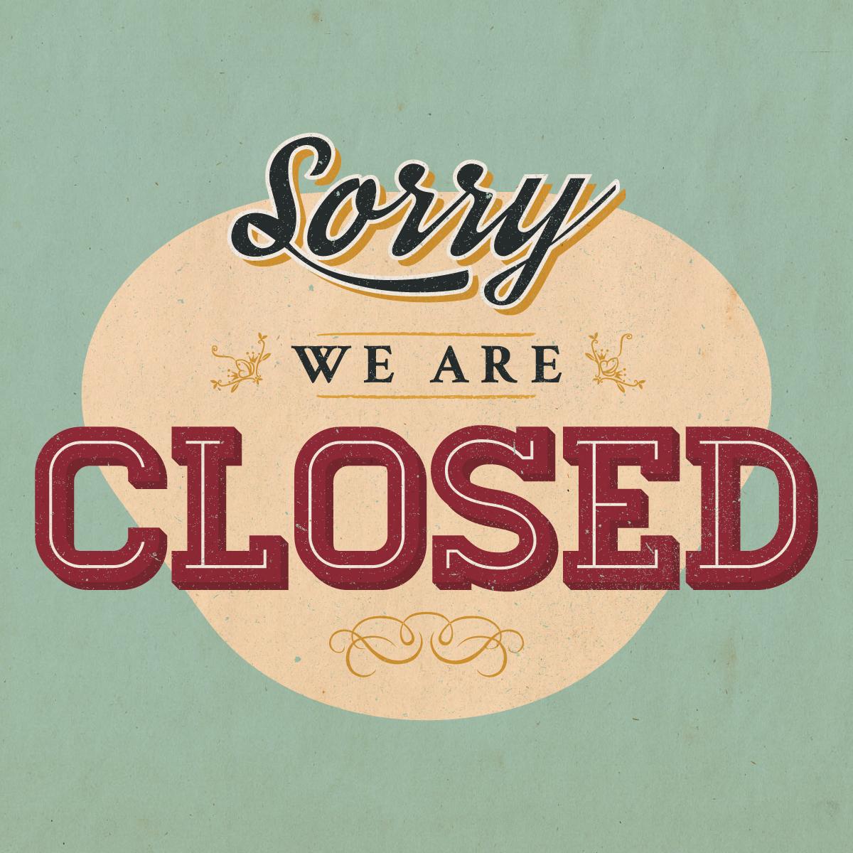 We're closed on Sundays & Mondays, but our online boutique