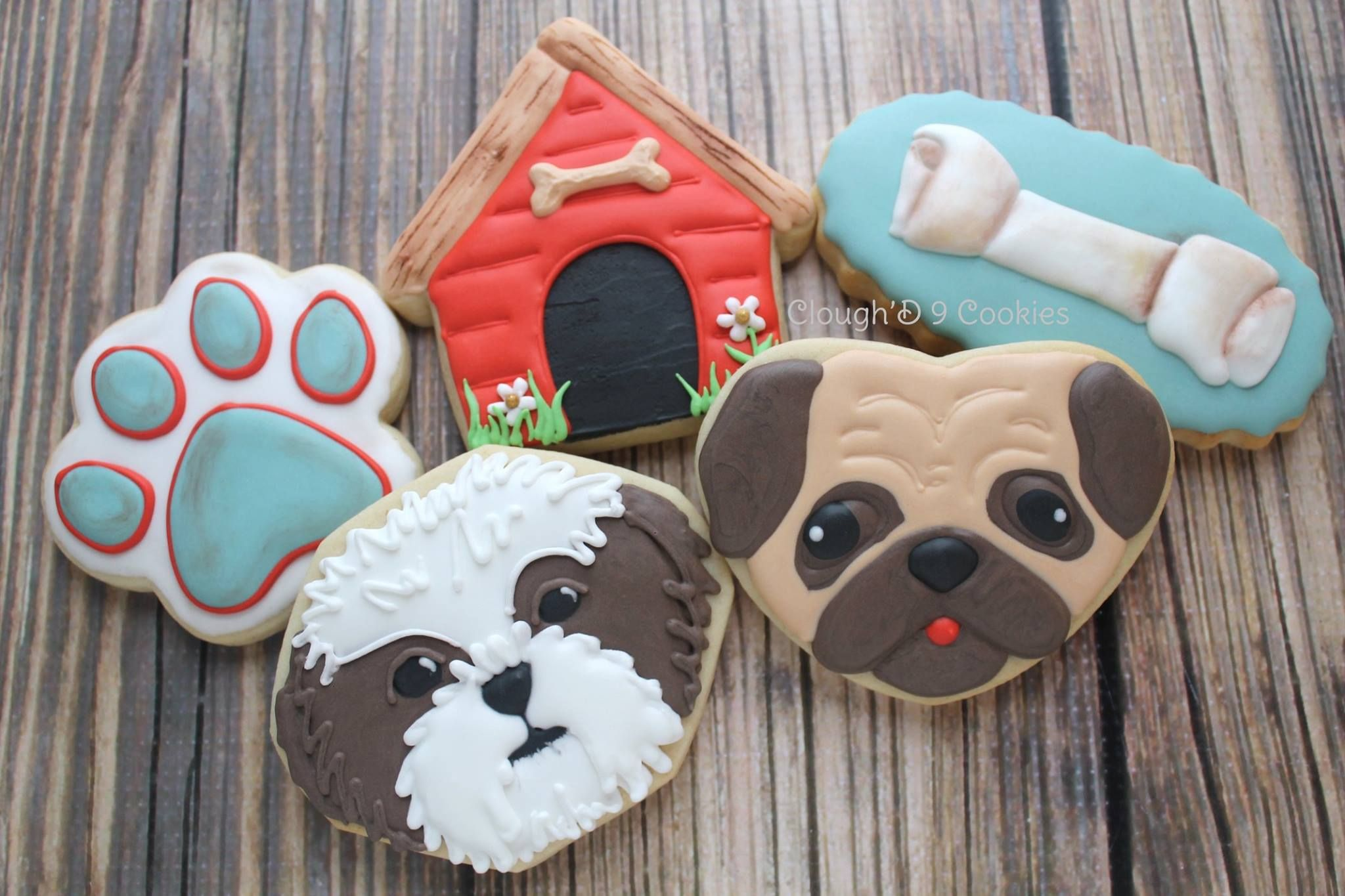 It S Puppy Love Clough D 9 Cookies Sweets Animal Cookies