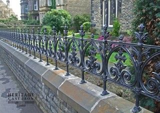 Cast Iron Products Fencing By North Shore Architectural Stone