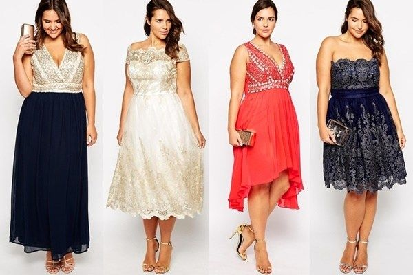Plus Size Knee Length Beach Wedding Guest Dresses Delicious Style