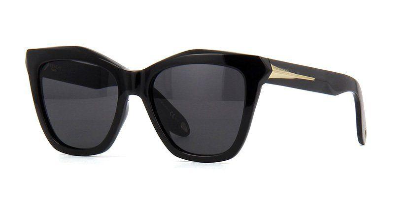 4252748c409c1 Givenchy GV 7008 S QOLY1 Black Sunglasses