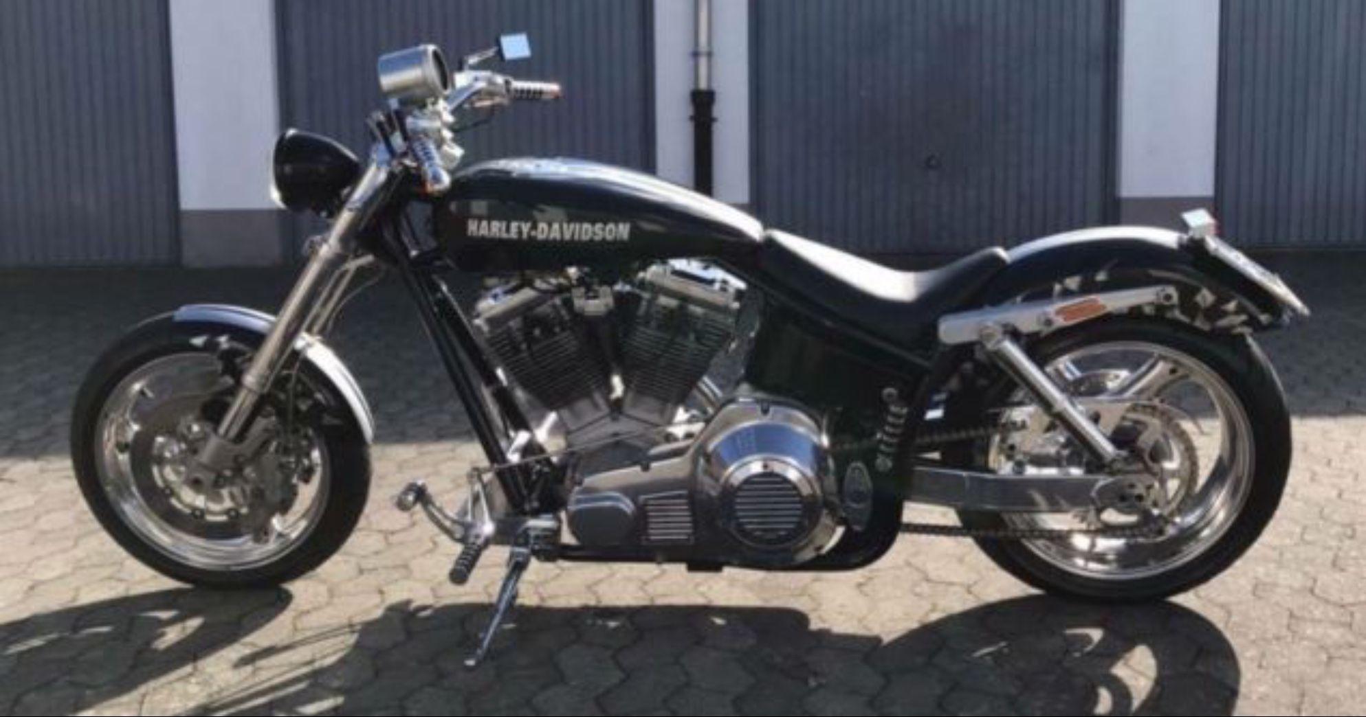 Kenny Boyce Harley Davidson FXR Pro Street Fournales JMC S&S