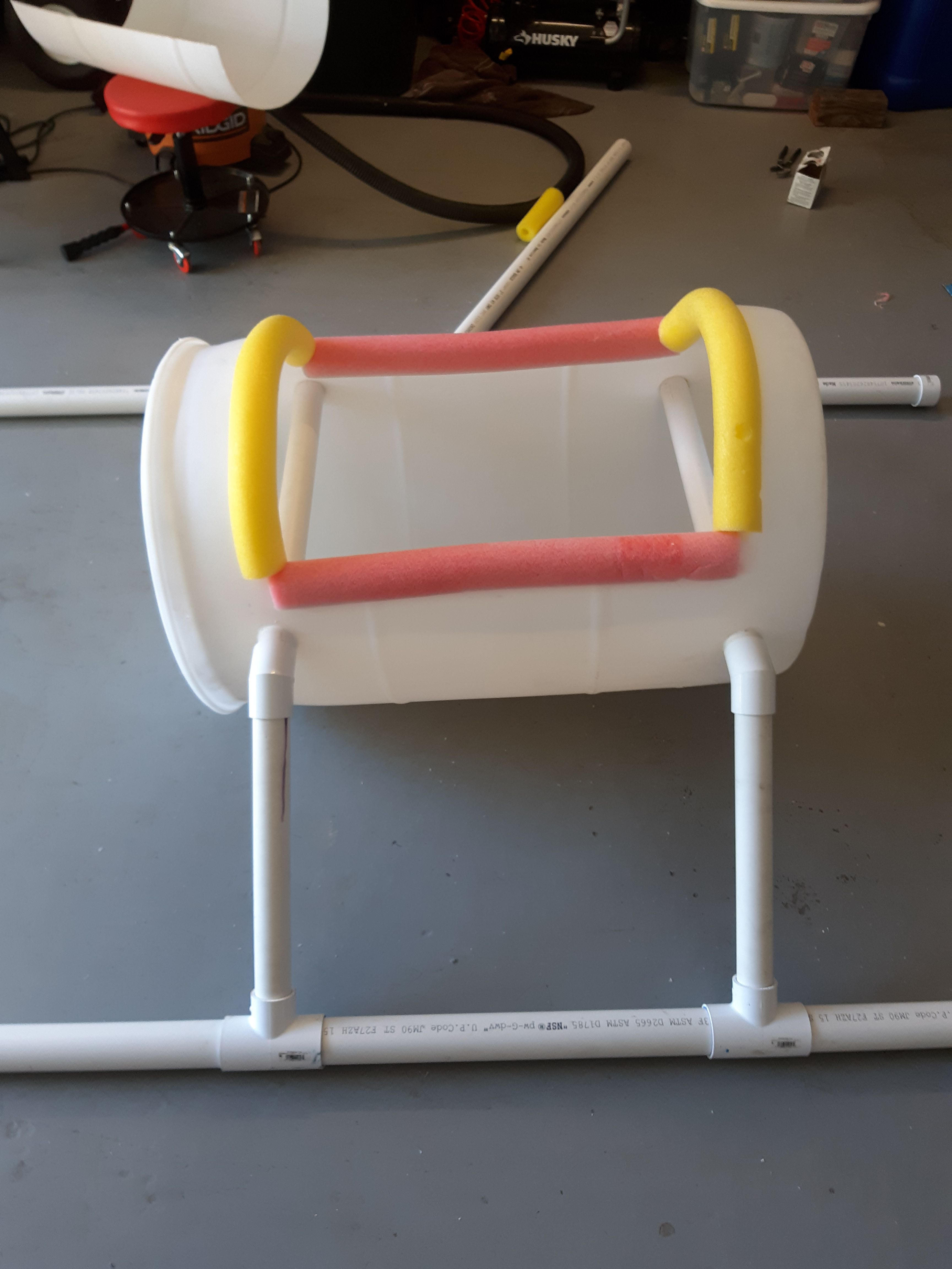 Recycled 55 Gal Drum Boat