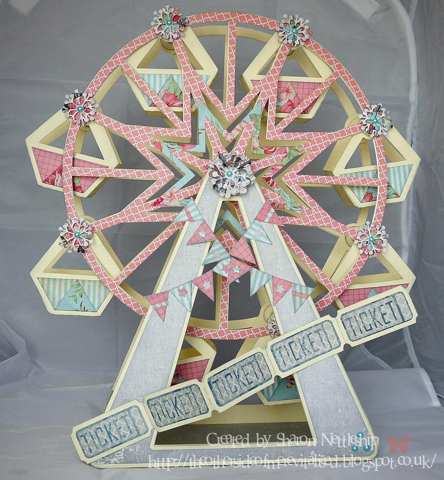 Ferris Wheel Kirigami Pop Up Card Https Www Facebook Com Bcozcard Pop Up Cards Origami Paper Art Kirigami