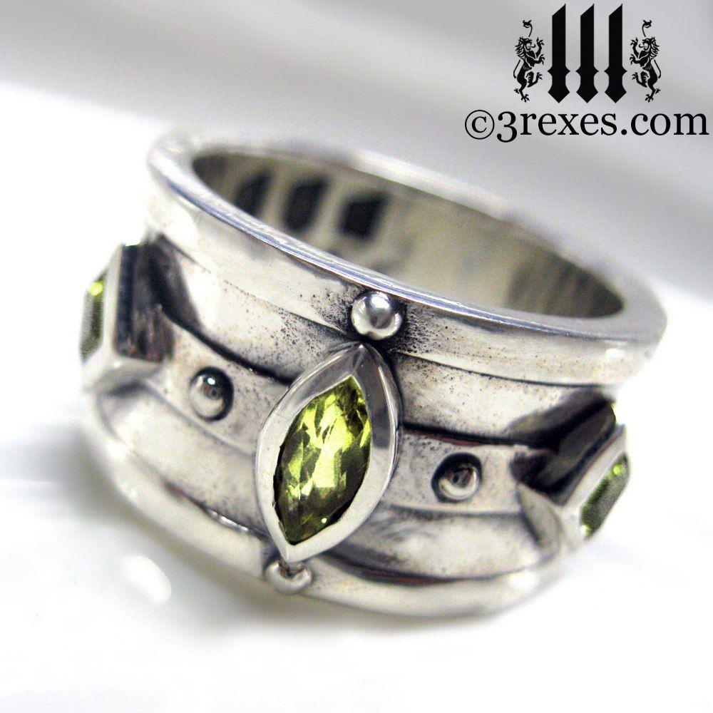 Moorish Medieval Gothic Silver Ring | Gothic wedding rings ...
