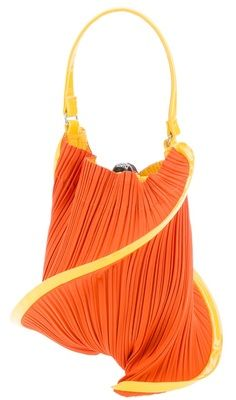 c985b0b3fa PLEATS PLEASE BY ISSEY MIYAKE twisted pleated clutch on bagservant.co.uk