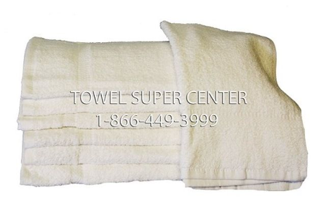 12 NEW white HAND//bath towels 16X27 wholesale utility HOTEL towels 100/% COTTON