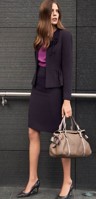 | Rita and Phill specializes in custom skirts. Follow Rita and Phill for more tips on the unwritten rules of office fashion!  https://www.pinterest.com/ritaandphill/business-casual-for-conservative-offices/?