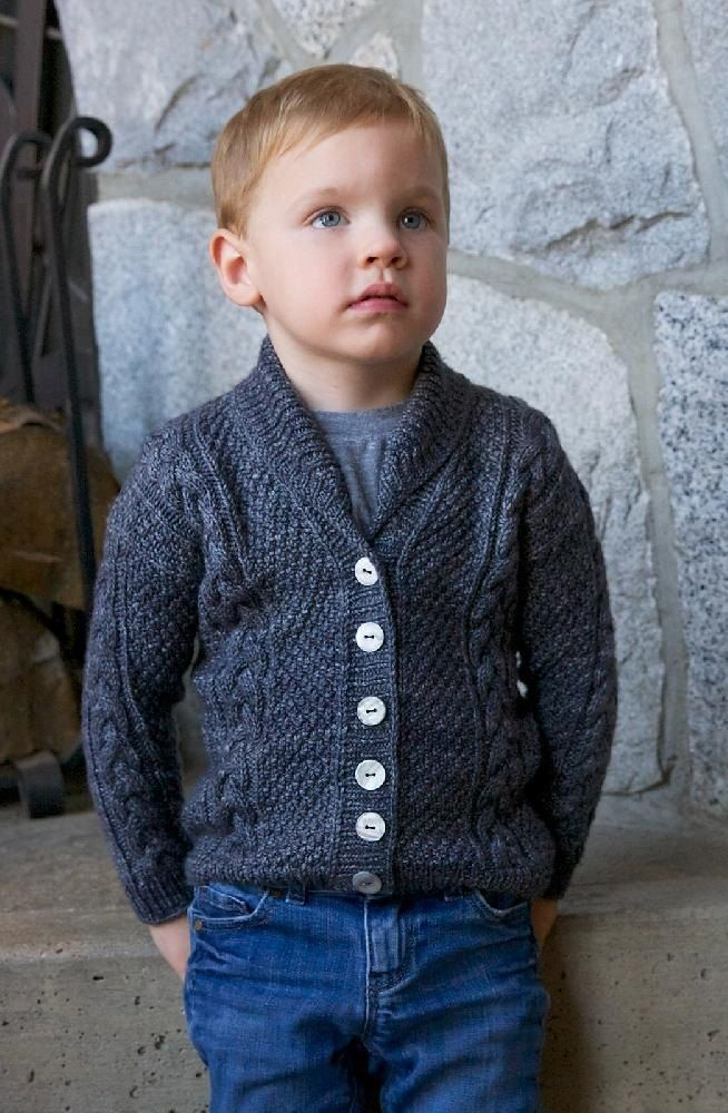 1daf86a69 Jones cardigan knitting pattern for child s and men s sizes