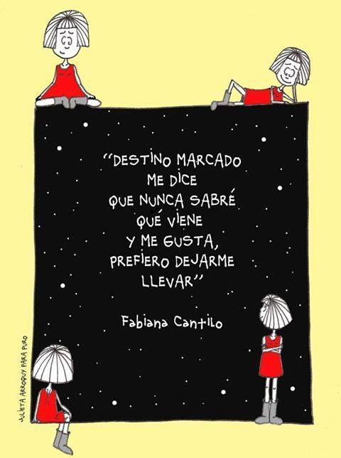 Fabiana Cantilo with Song Lyrics