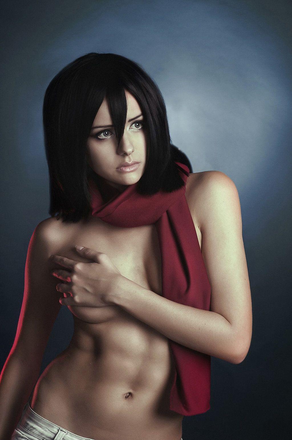 Mikasa nude girl