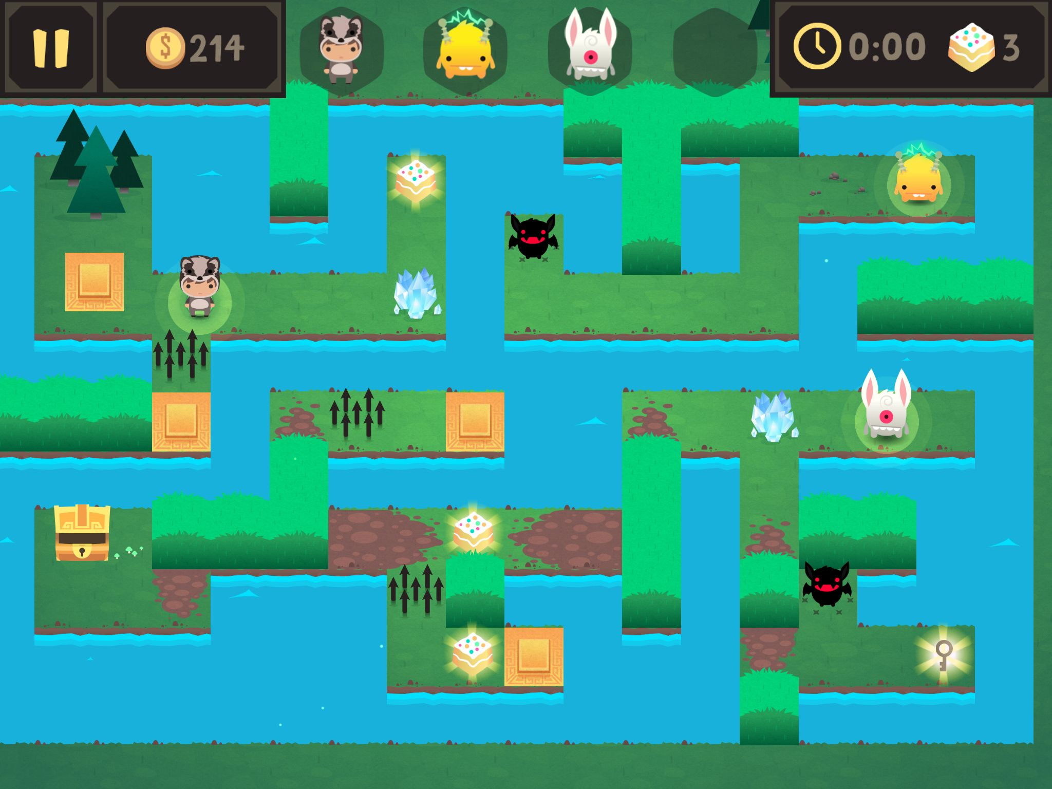 Monsters Ate My Birthday Cake Indie Game Level Design 2d Game