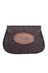 Opal Applique Clutch - Accessories at Maggy London