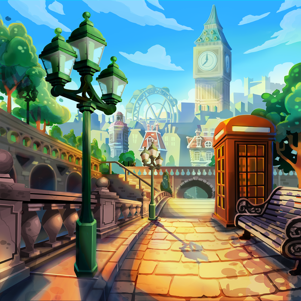 Ray Chan on Behance Cartoon background, Background