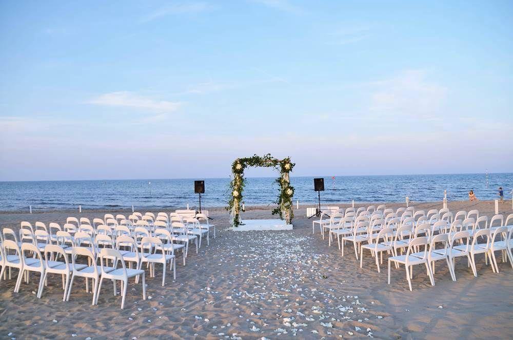 My Wedding on the beach... Sand Sottomarina Venezia