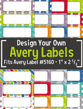 Need To Make The Classroom Decorating Or Organizing Process A Little Less Stressful Check Out These Completely Edi Avery Labels Microsoft Word Document Labels