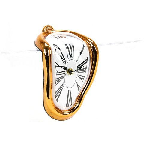 Reloj Dalí cobre