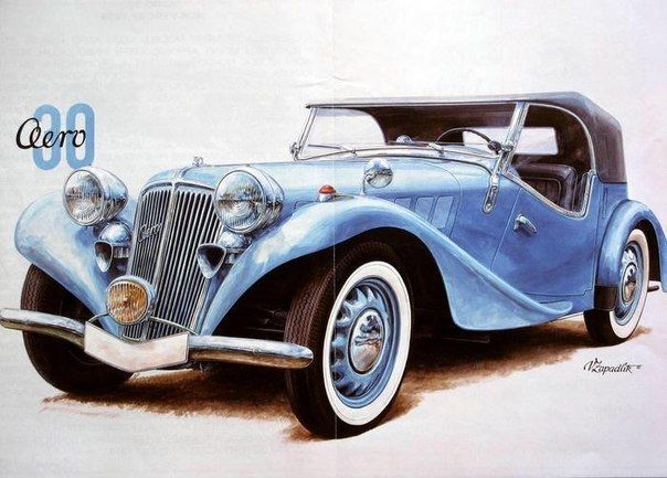 Снимка Retro Cars Antique Car