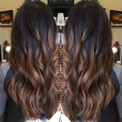 What Hair Color And Style Streaks Highlights Suits A Dusky