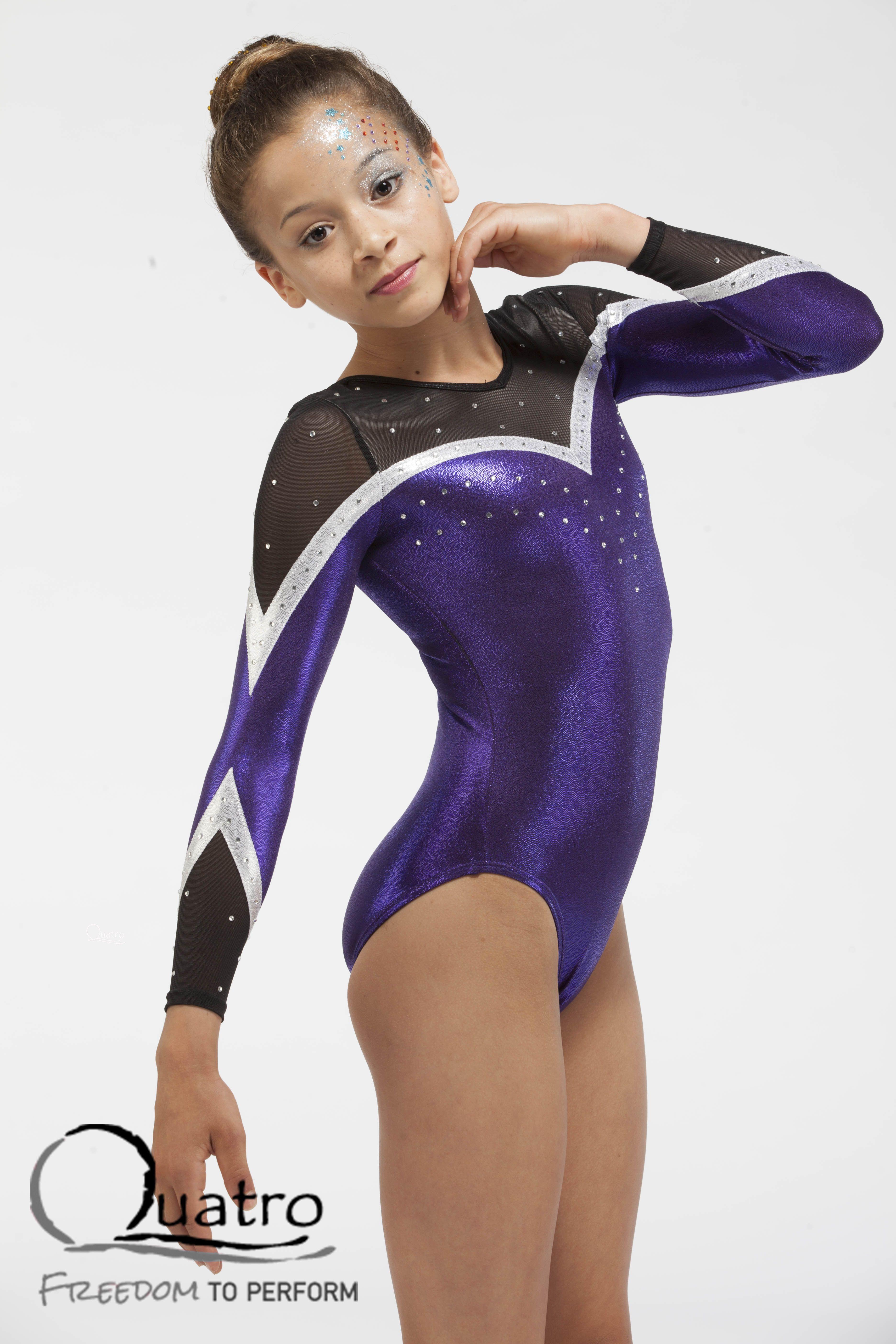 women college gymnasts in leotards