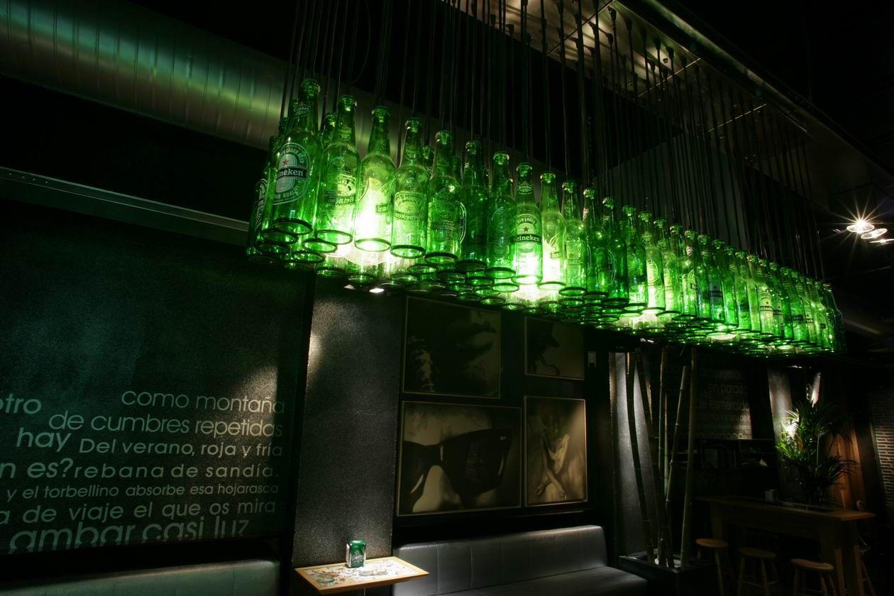 Inicio Taralux Heineken Ideias Para Barbearias Luminária