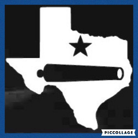 Texas Come And Take It Silhouette Decal Come And Take It Car Decal Window Decal Gonzales Tx Texas Proud Come And Take It Silhouette Texas Stickers
