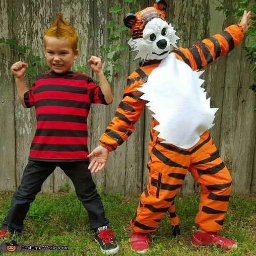 Calvin And Hobbes Halloween Costume Contest At Costume Workscom
