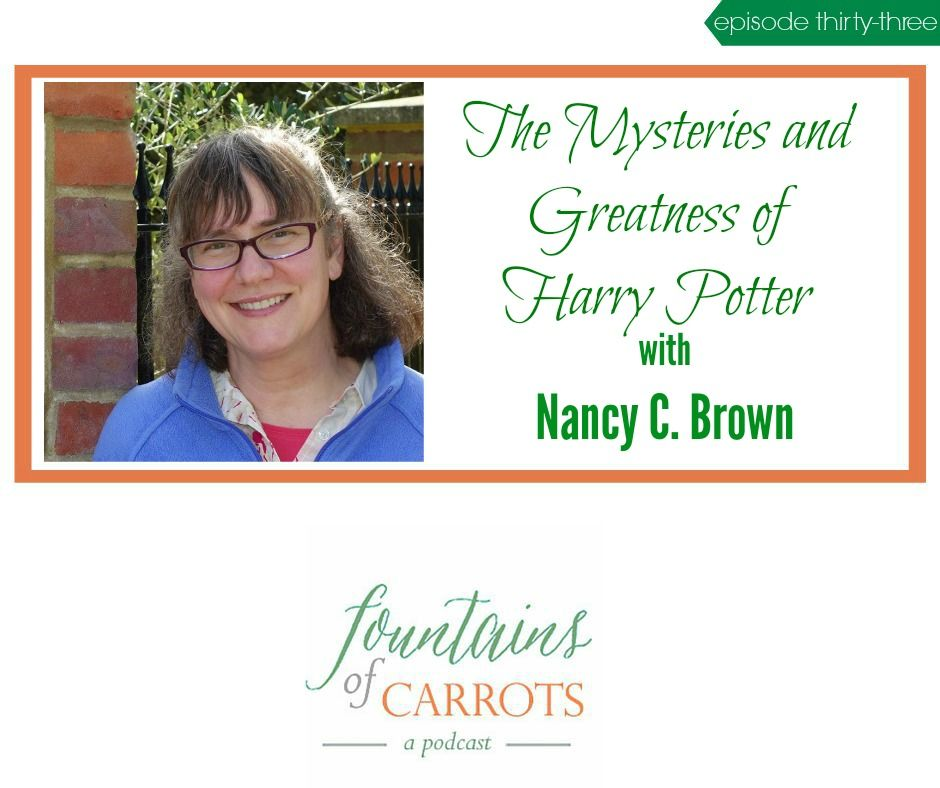 FoC 033: The Mysteries and Greatness of Harry Potter with Nancy C. Brown