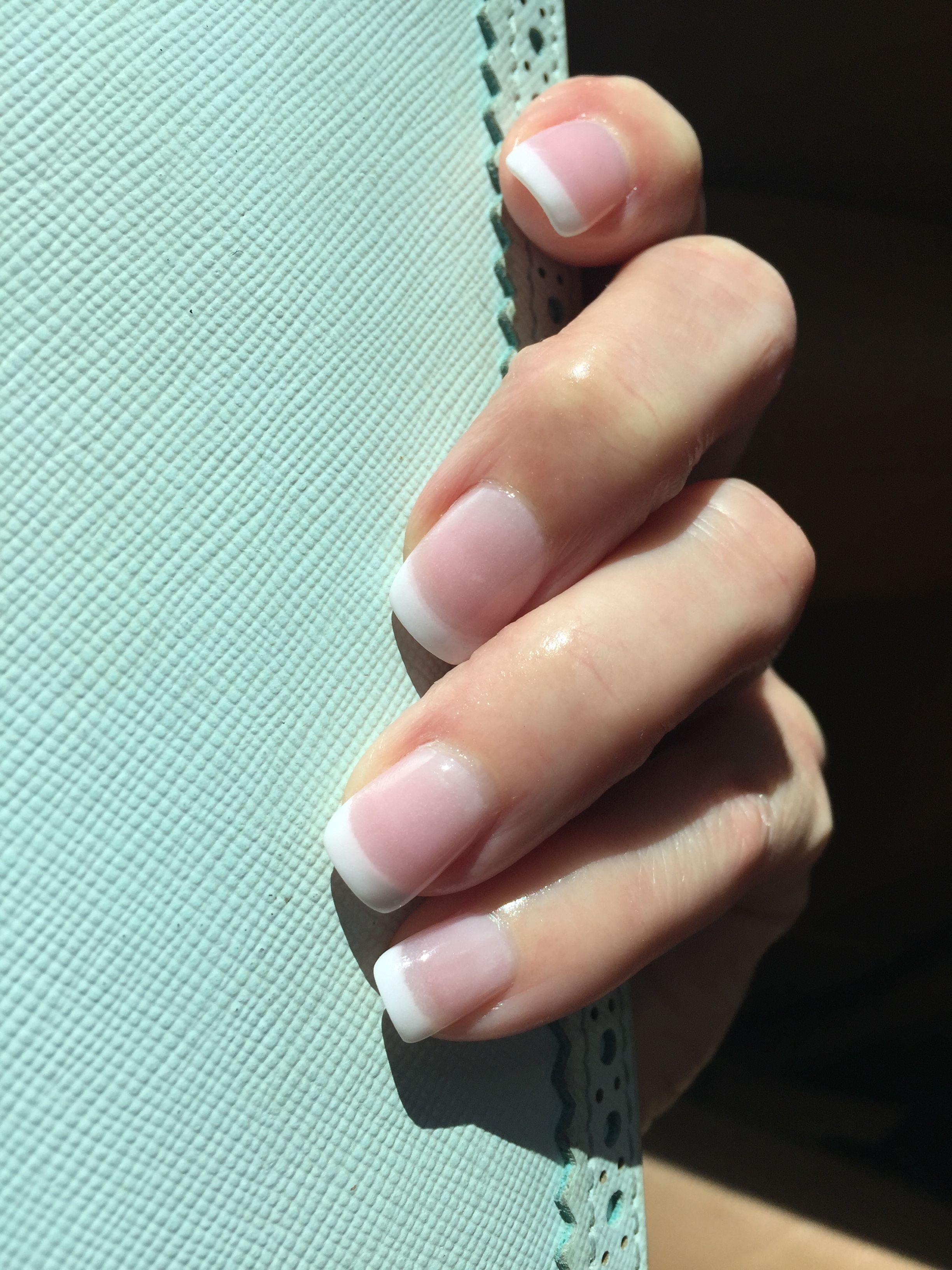 french manicure set style