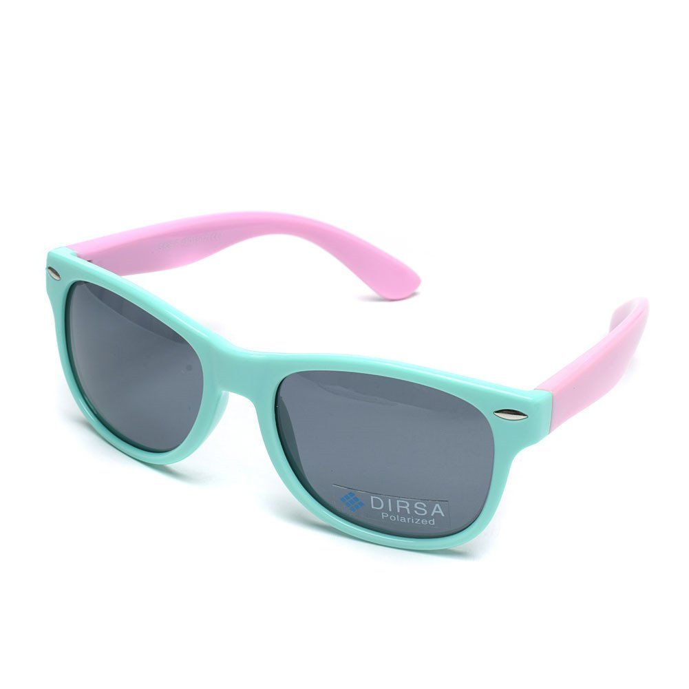 fdce5a6bc47 DIRSA Rubber Flexible Kids Polarized Sunglasses Glasses for Boys Girls  Child Age 3-10 (