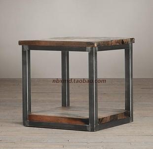 Do The Old Retro Nostalgia Wrought Iron Coffee Table Square Coffee Table A Few Side Angle Iron Wood Nightstan Iron Coffee Table Loft Style Furniture Iron Table