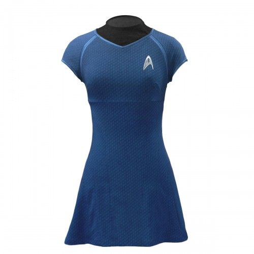 Star Trek: Into Darkness Dr. Carol Marcus Blue Dress by ANOVOS