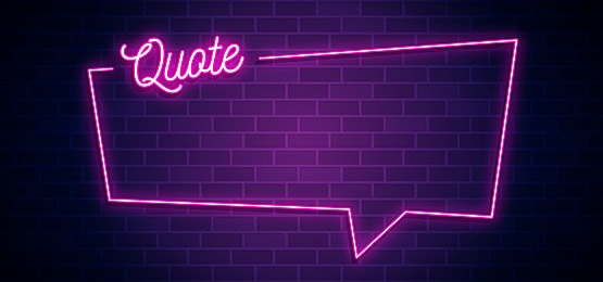 Quote Bubble Text Pink Neon Light Background Vector Illustration Eps Jpg Bubble Quotes Pink Neon Lights Lights Background