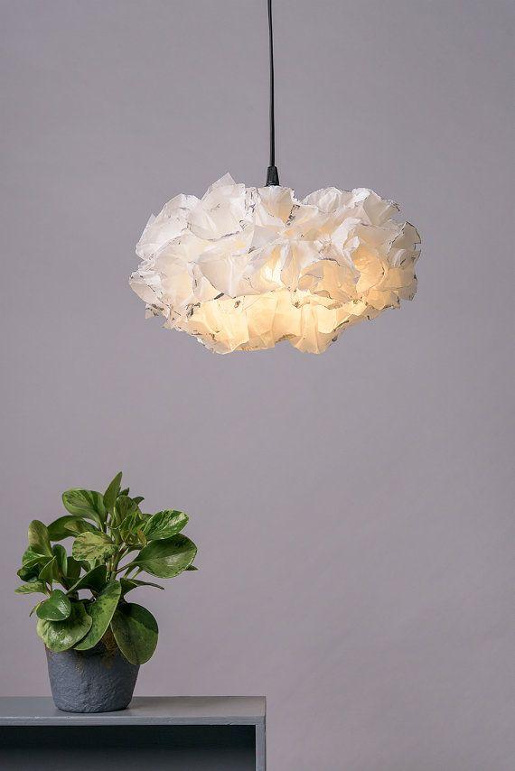 Xl White Silver Pendant Lamp White Light Fixture Ceiling