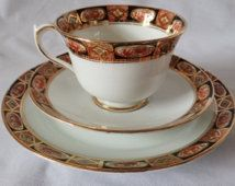R. A. Crown China Heritage pattern 5 trios