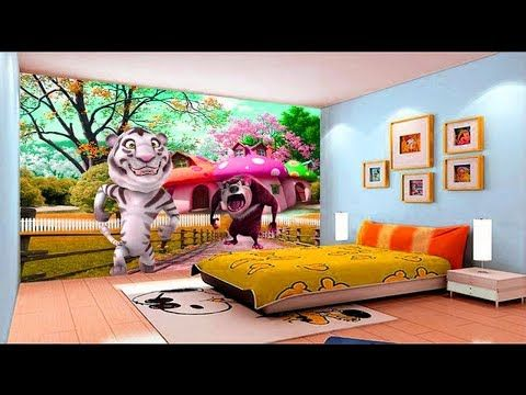Amazing kids room 3d wallpaper ideas