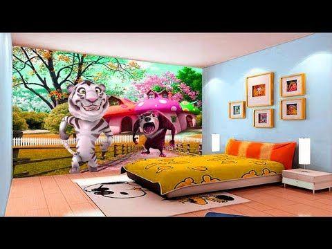 Amazing kids room 3d wallpaper ideas |childrens bedroom wallpapers | HOME DECOR | Kids bedroom ...
