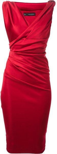 Fitted Dress | Kleidung, Rote mode und Kleider